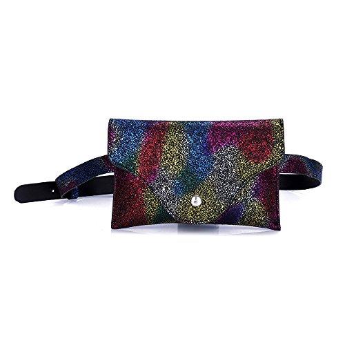Tracolla Con Paillettes Strap Panpany Clutch Marsupio marsupio Moda Per Handbag Pelle A Mano Donna Donna Portafoglio In D E Borsa Pochette OtptwBx
