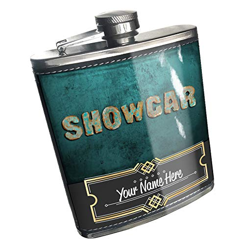 Neonblond Flask Showcar Vintage Metal Copper Custom Name Stainless - Accessories Showcar