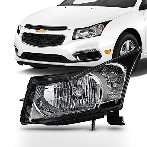 Chevy Headlight Assembly Left - For 2011 2012 2013 2014 2015 Chevy Cruze 2016 Cruze Limited Driver Left Side Headlight Lamp