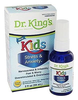 Kids Stress & Anxiety Dr King Natural Medicine 2 fl oz (59 mL) Liquid