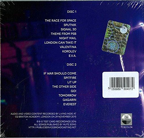 Live At Brixton Box set, CD+DVD, Live