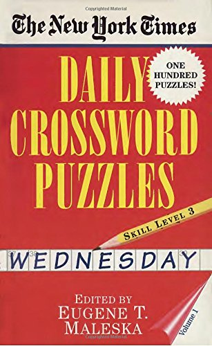 1: New York Times Daily Crossword Puzzles (Wednesday), Volume I