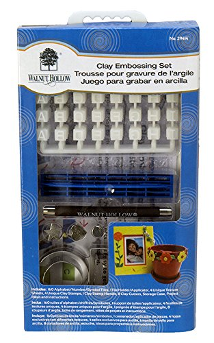 Walnut Hollow Clay Embossing Set 29414