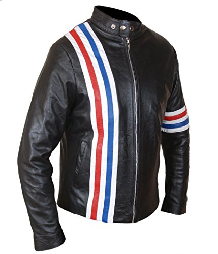 Black amp;H F Peter Easy Fonda Flag Men's US Rider Jacket SpxwFS