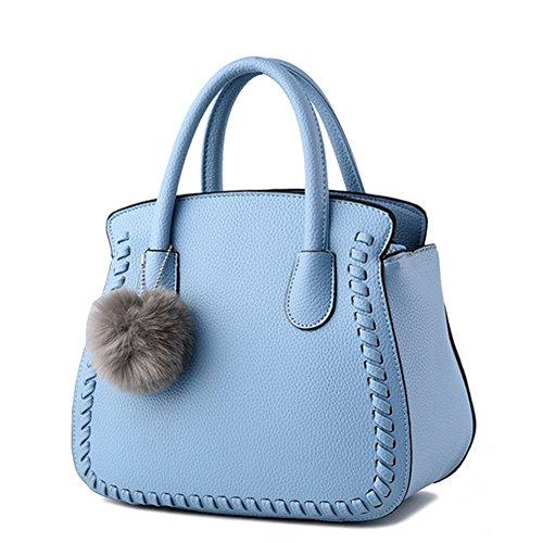 Unknown - Bolso mochila  para mujer granate azul