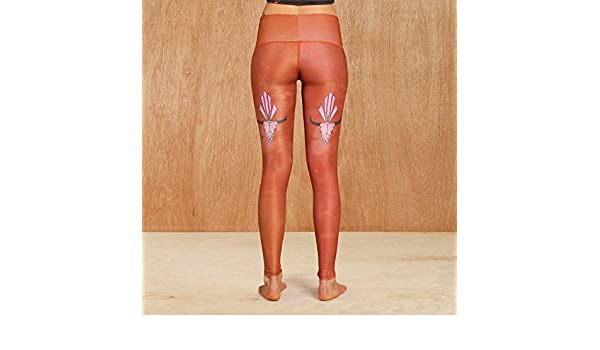Teeki Buffalo Princess Sienna Yoga Leggings: Amazon.es ...