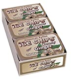 ICE CHIPS Xylitol Candy Tins (Ginger, 6 Pack); Includes ICE CHIPS BAND as shown