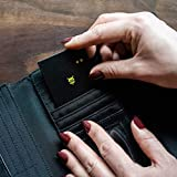 Pebblebee BlackCard Wallet Finder-Rechargeable