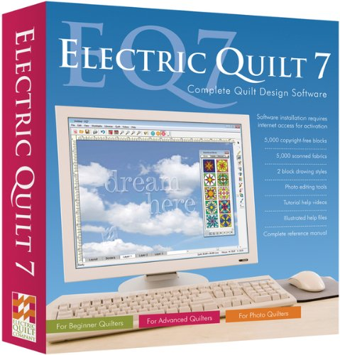 Electric Quilt 7- 1 pcs sku# 644899MA by The Electric Quilt Co.