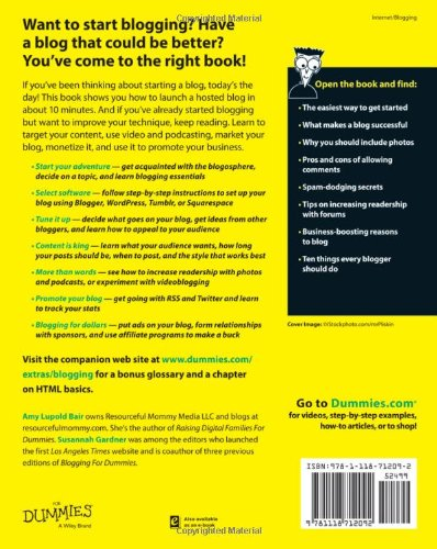 Blogging-For-Dummies