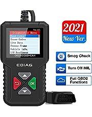 Ediag YA101 OBD2 Scanner, EOBD/OBD2 Auto Code Reader met Volledige OBD2 Functies,Controleer Motor Code Reader Automotive Auto Diagnostic Tool/Car Code Scanner voor O2 Sensor/EVAP System/Smog Test