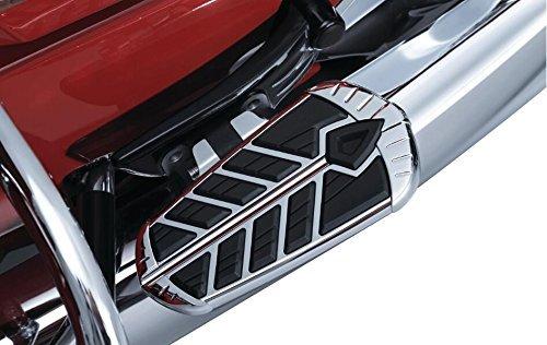 Kuryakyn 5656 Chrome Spear Passenger Floorboard Inserts for 15-'17 Indian Roadmaster & Springfield