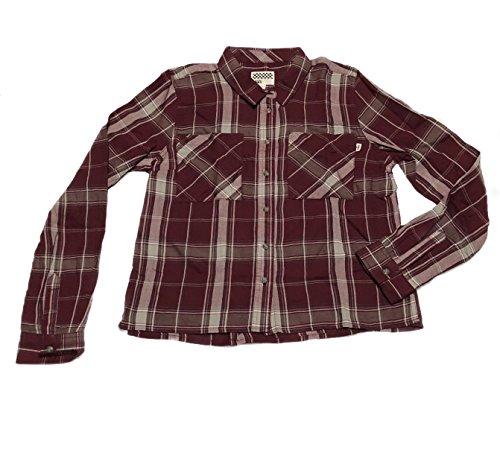 Flannel Daisies - Vans Flannel Shirt Daisy Crop Size L