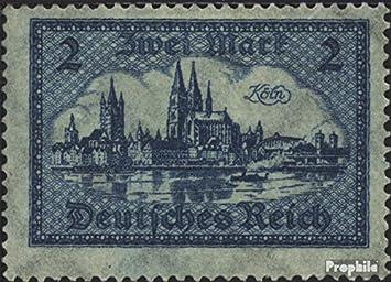Prophila sellos para coleccionistas: alemán Imperio 365 matasellado 1924 vista encendido viejo-Colonia (