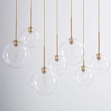 Amazon.com: IJ INJUICY Tom Dixon - Lámpara de techo para ...