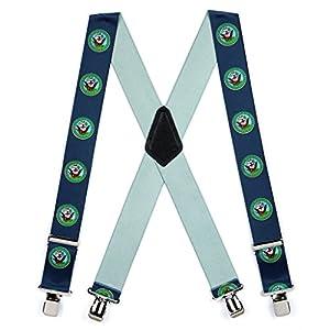 SuspenderStore Men's US Navy Military Suspenders