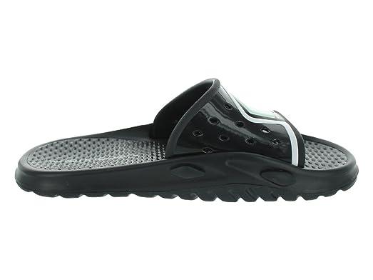 b03c2eb43c44 Amazon.com Nike Mens NIKE JORDAN CAMP SLIDE 3 FLIP FLOPS 8  (BLACKBLACKWHITE) ...