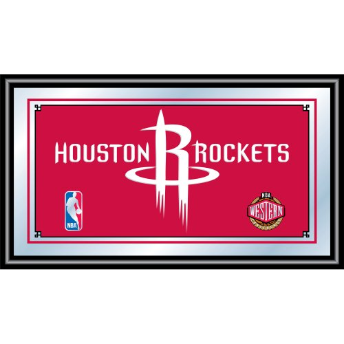 (NBA Houston Rockets Framed Logo Mirror)