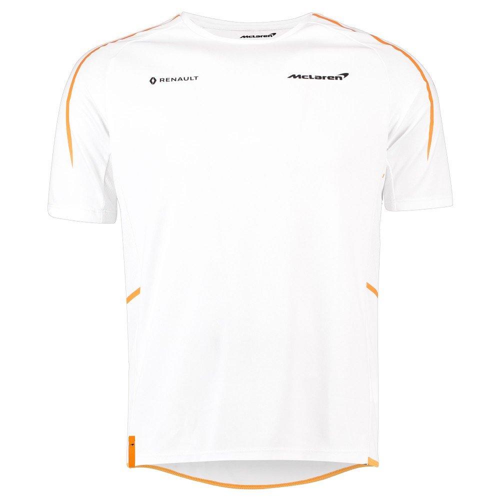 2018 McLaren F1 Formel-1-Team der Offiziellen weiß Herren T-Shirt Tee in Größen s-XXXL