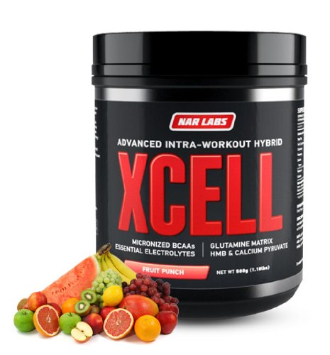 NAR LABS XCELL 500g Intra-Workout Formula (Fruit Punch)