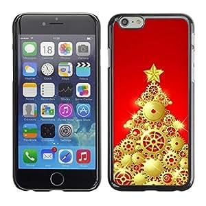 YOYO Slim PC / Aluminium Case Cover Armor Shell Portection //Christmas Holiday Decorated Tree 1062 //Apple Iphone 6 Plus 5.5 by icecream design