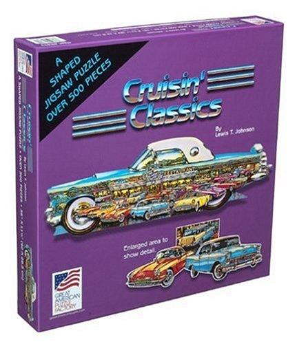 Great American Puzzle Factory Cruisin' Classics 500 Piece Puzzle