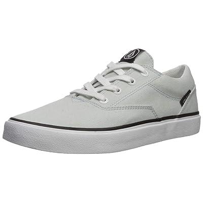 Volcom Mens Draw LO Canvas Vulcanized Skate Shoe, Free Blue,: Shoes