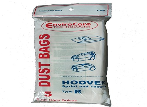 Hoover Type R Canister Sprint Vacuum Paper Bags 5 ()