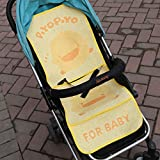 Summer Pushchair Liner Pram Stroller Liner Buggy and Car Seat Keeps Baby Cool Mat for Baby Newborn Infant 85 * 36CM