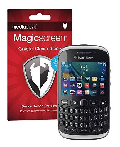 BlackBerry Curve 9220 / 9310 / 9320 Screen Protector, MediaDevil Magicscreen Crystal Clear (Invisible) Edition - (2 x Protectors) - Blackberry Curve Screen