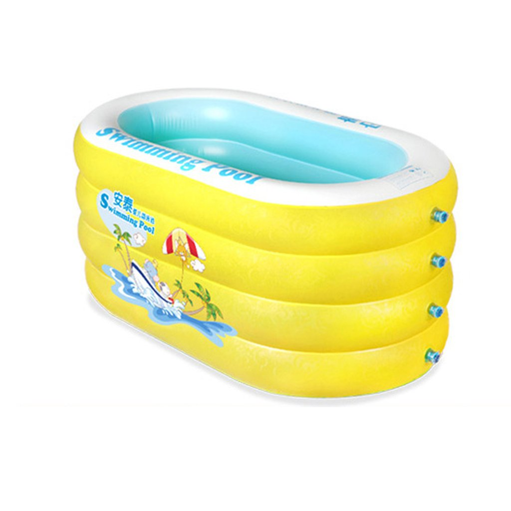 KTYX Infant Inflatable Pool Family Insulation Thickened Baby Swimming Bucket Inflatable bathtub