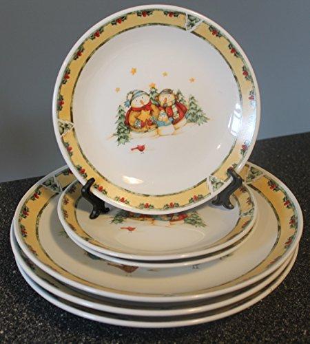 Gibson Snowman (Snowman Frolic by GIBSON DESIGNS Dinnerware Plates)
