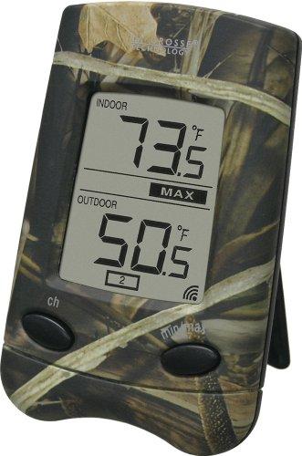 La Crosse Technology WS-9002U-CAMO Wireless Camouflage Th...