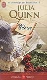 La chronique des Bridgerton, Tome 5 : Eloïse par Quinn