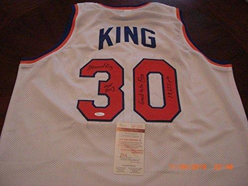 Bernard-King-New-York-Knicks-Hof-2013good-To-Be-King-Jsacoa-Signed-Jersey-Autographed-NBA-Jerseys