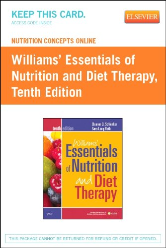 Nutrition Concepts Online for Schlenker: Williams' Essentials of Nutrition and Diet Therapy (Access Code), 10e