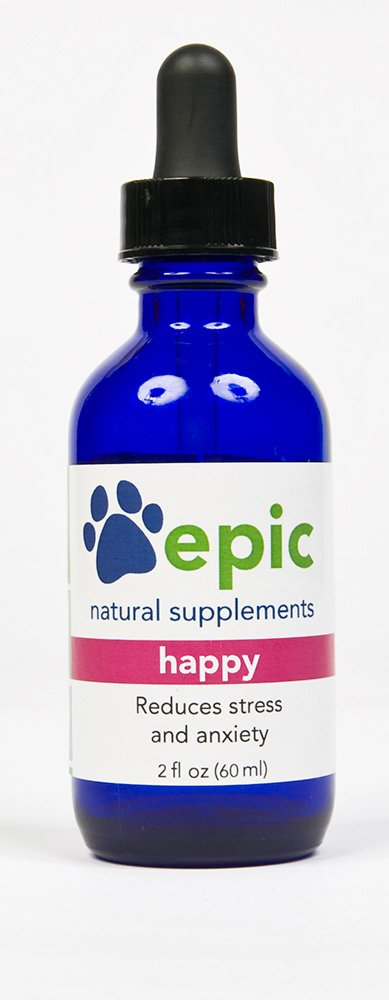 Happy - Reduce Stress and Anxiety Naturally (Dropper, 2 ounce)