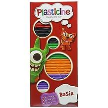 Plasticine Basix 6 Colour Pack (One Supplied)