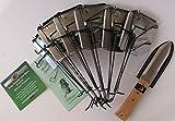 Cinch Trap Gopher/ Mole Super Starter Kit, 6 Traps, 1 Hori Hori Knife, 1 Gophers Limited Instructional DVD, 1 Quick Start Guide