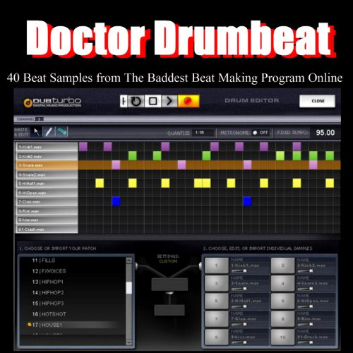 40 Beat Samples from the Baddest Beat Making Program Online by Dub Turbo Drums on Amazon Music - Amazon.com