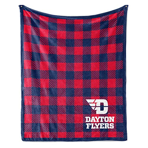 Official NCAA Dayton Flyers - Fleece Blanket - 30X40 -