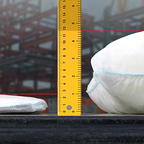 FloodSax FS10R Instant Self-Inflating Sandless Sandbags/Water Absorbent Pads (10 Pack), 19'' x 20'', White by FloodSax (Image #3)