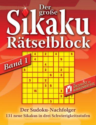 Der grosse Sikaku Rätselblock 1