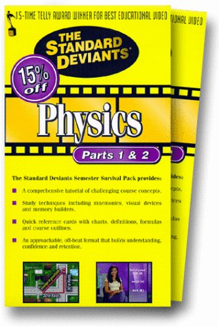 The Standard Deviants: Physics Video Box [VHS]