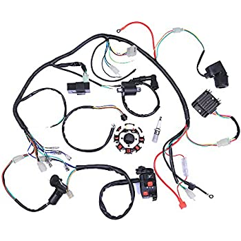 Amazon Com Cisno Complete Electrics Stator Coil Cdi Wiring Harness