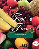Food Finder : Vitamin and Mineral Source Guide, Hands, Elizabeth S., 0940071169