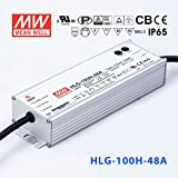 Meanwell HLG-100H-48A Power Supply - 100W 48V 2A - IP65 - Adjustable Output