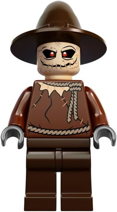Lego Batman DC Comics Super Heroes Scarecrow Minifigure from Arkham Asylum (10937)