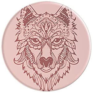 Rosegold Wolf Art - PopSockets Grip and Stand for Phones and Tablets
