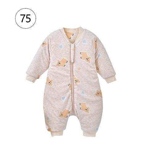 Biback Baby Saco de Dormir Saco de Dormir Mono de poliéster y algodón, cálida,